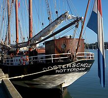 Oosterschelde.....Don't try saying this if you have false teeth......! by Roy  Massicks