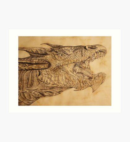 The Desolation of Smaug Art Print