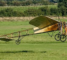 1909 Blériot Type XI G-AANG by Colin Smedley