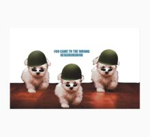 Cute Dog Army by DrHerpaDerp