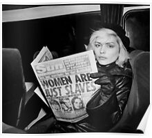 Blondie - Women are just slaves Poster