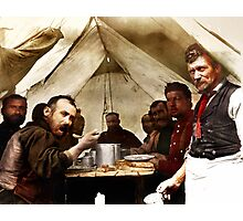 Tent Restaurant Photographic Print