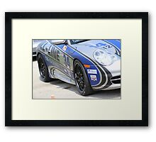 Day at the racetrack Framed Print