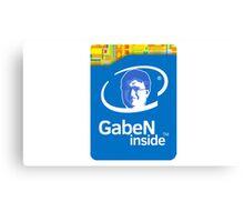 GabeN Inside (HD, I guess) Canvas Print