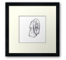 Hand of the Serpent Framed Print