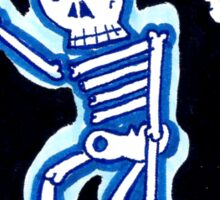 Skeleton Folk Sticker