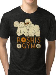 roshi's gym Tri-blend T-Shirt
