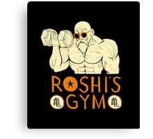 roshi's gym Canvas Print