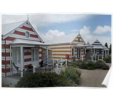 Colour Huts Poster