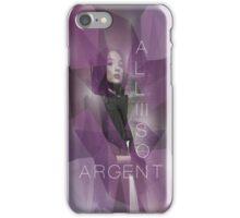 Argent iPhone Case/Skin