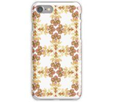 Pink Petal Pattern I iPhone Case/Skin