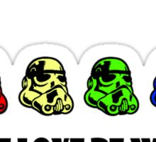May the LOVE BE WITH YOU Sticker