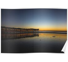Pacific Beach Sunset Poster