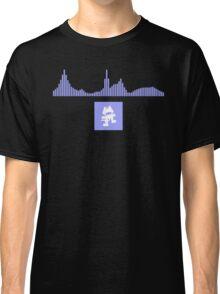 Monstercat Visualizer - Future Bass Violet Classic T-Shirt