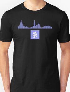 Monstercat Visualizer - Future Bass Violet Unisex T-Shirt