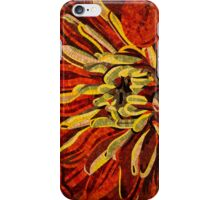 Fanciful, Cheerful Floral Mosaic iPhone Case/Skin