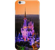 Cinderella Castle Sunset iPhone Case/Skin