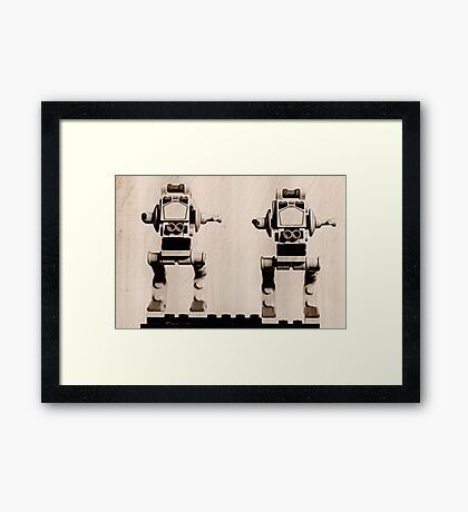 Lego AT-ST Framed Print