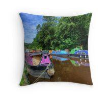 Hebden Bridge Throw Pillow