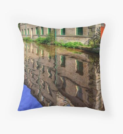 Hebden Bridge Throw Pillow