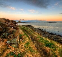 Lindisfarne Castle Views by English Landscape Prints