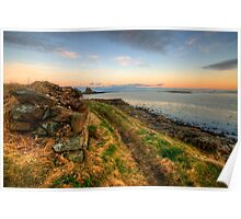 Lindisfarne Castle Views Poster