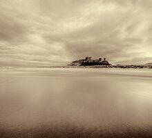 Bamburgh by English Landscape Prints