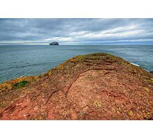 Bass Rock Photographic Print
