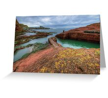 Tantallon Castle Greeting Card