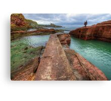Tantallon Castle Canvas Print