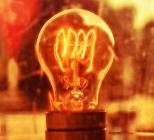 incandescent light bulb by skyfish