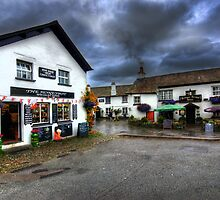 Hawkshead by English Landscape Prints