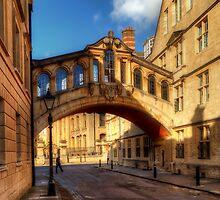 Hertford Bridge, Oxford by English Landscape Prints