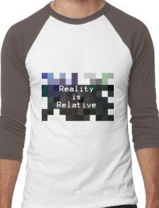 Reality is Relative Men's Baseball ¾ T-Shirt