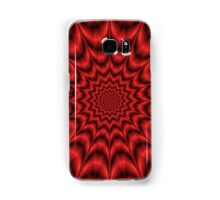 Psychedelic Explosion In Red Samsung Galaxy Case/Skin