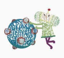 Prince Katamari Textography Kids Clothes