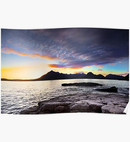 Cuillins Sunset Poster