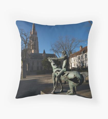 Bruge Throw Pillow