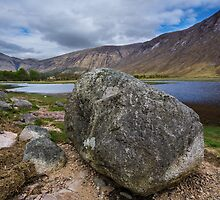 Glen Etive by English Landscape Prints