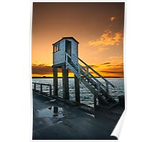 Holy Island Causeway Poster