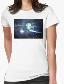 dragonfly macro Womens Fitted T-Shirt