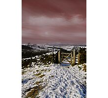 Views To Pendle Hill Photographic Print