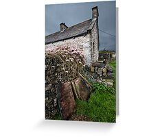 A Dales Cottage Greeting Card