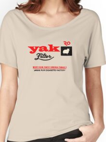 Yak Filter Women's Relaxed Fit T-Shirt