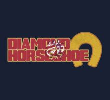 Diamond Horseshoe Kids Tee