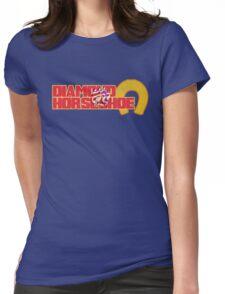Diamond Horseshoe Womens Fitted T-Shirt