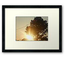 location Framed Print
