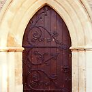 Gothic door by ForeverFrodo