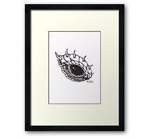 Dragon Eye - Left Framed Print