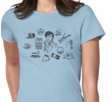 Sherlock: The Game Is On Womens Fitted T-Shirt